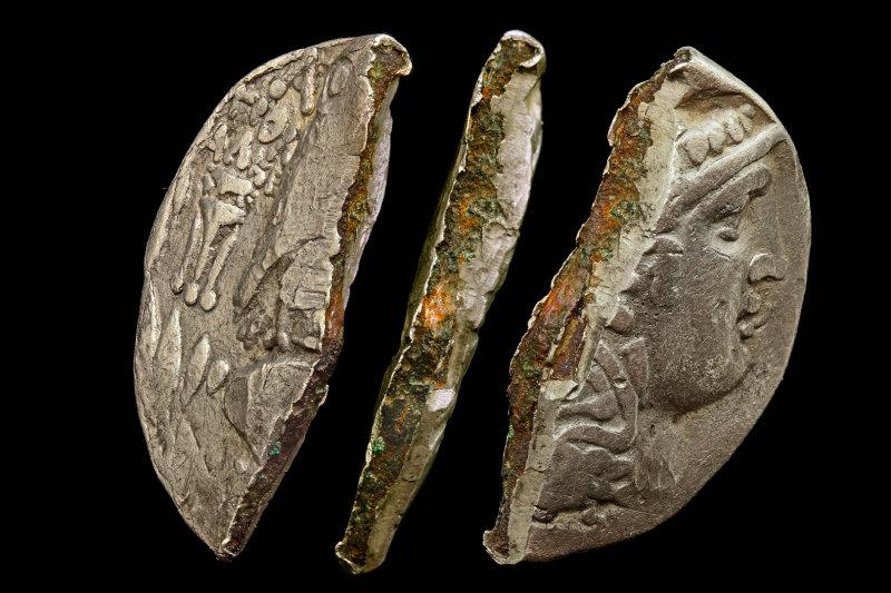 Ancienne Monnaie Grecque, Phocée, 6ème siècle avant JC. Crédit Photographique : Doug Smith.